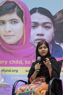 Malala Yousafzai speaks at World Bank headquarters on the International Day of the Girl | by World Bank Photo Collection