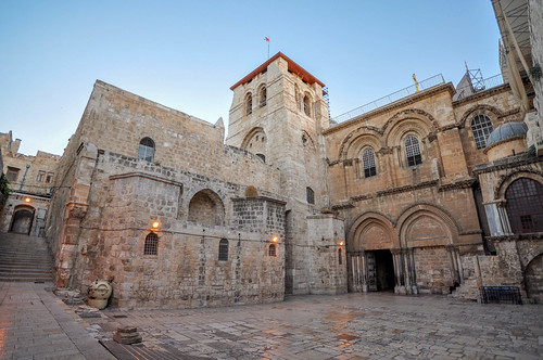 The Church of the Holy Sepulchre, the place where Jesus was crucified (and supposedly, buried) | by Jorge Lascar
