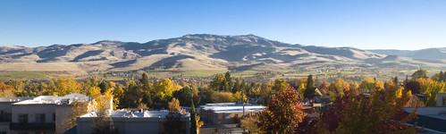 autumn panorama color fall oregon nikon fallcolor pano panoramic hills ashland southernoregon d90
