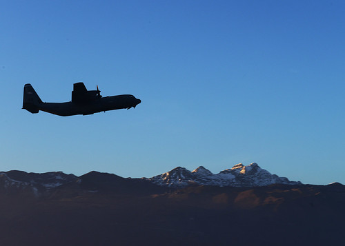 C-130 flying high | by Official U.S. Air Force
