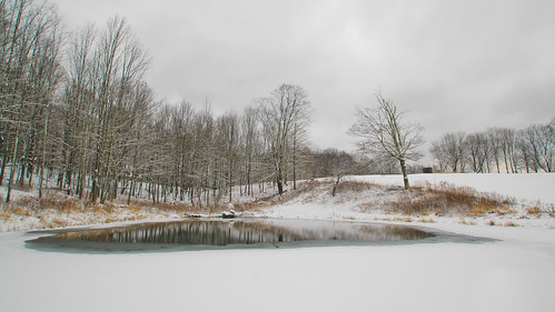snow ice water reflections landscape pond unfinished odt tamron1024mmlens