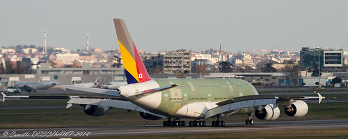 A380 - Asiana Airlines - F-WWAQ | by Camille DESCHAMP
