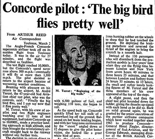 2nd March 1969 - Maiden flight of Concorde | by Bradford Timeline