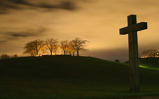 Cross at Midnight - Early Spring