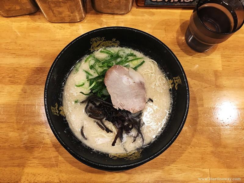 Ramen a Shibuya, cosa mangiare in giappone