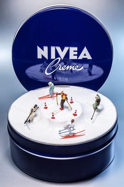 Nivea Creme Winterspiele - Nivea Creme winter games