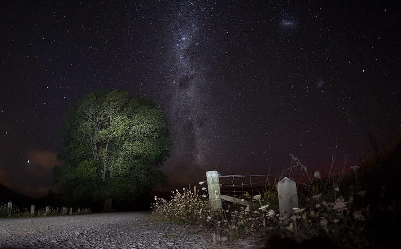 Night sky @ Taylor Dam, Taylor Pass, New Zealand