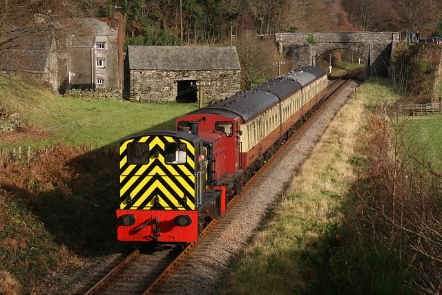 The Lakeside and Haverthwaite Railway