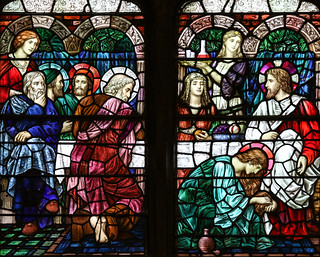 Mary of Bethany Anoints Jesus's Feet | by Lawrence OP