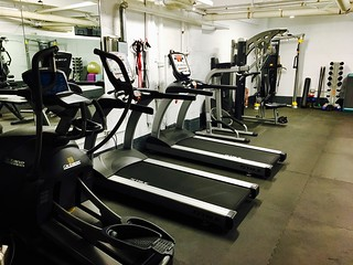 Fitness center nabors apartments