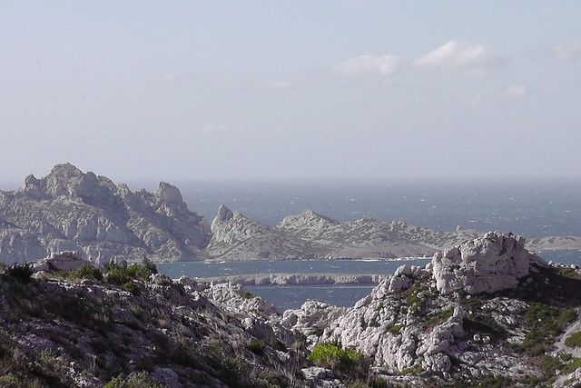 Marseille, au-dessus des calanques