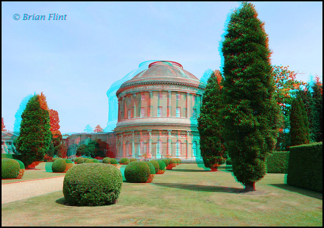 Ickworth House - 3d anaglyph