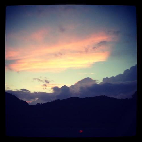 sunset mountains tennessee johnsoncity