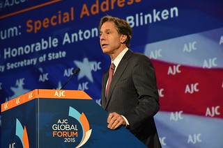 Deputy Secretary Blinken Delivers Remarks at the American Jewish Committee's Global Forum 2015