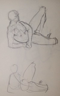 Life drawing 1-5min | by danvas