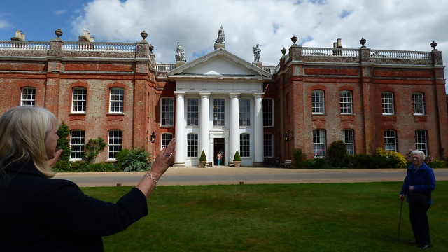 The guide at Avington Park, Winchester, Hampshire