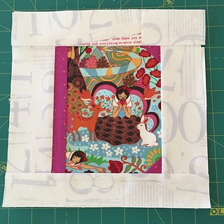 @tillieandfia here's your June block, on its way just in time. #thebookbee #patchworkplease
