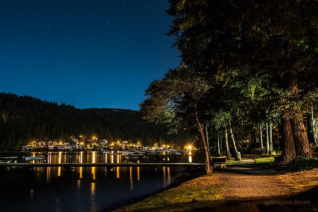 Late Night Lakeside ~ Cultus Lake, BC