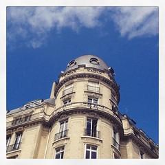 Sky #paris #parisnow #building #sky