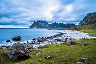 Living by the sea #4, Utakleiv Beach, Lofoten Norway (for the view the other direction see first comment) | by Maria_Globetrotter