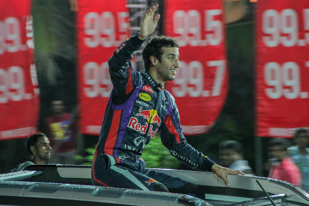 Daniel Ricciardo after his run at CNR 2013