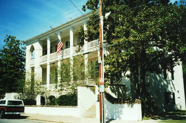 Charleston SC  ~  Old Marine Hospital ~ My Old Film ~ Historic