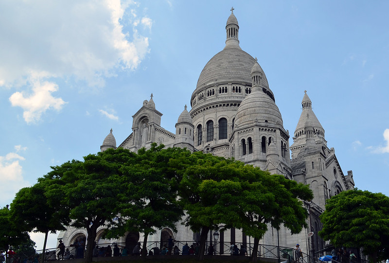 Paris : la Basilique du Sacré-Cœur de Montmartre