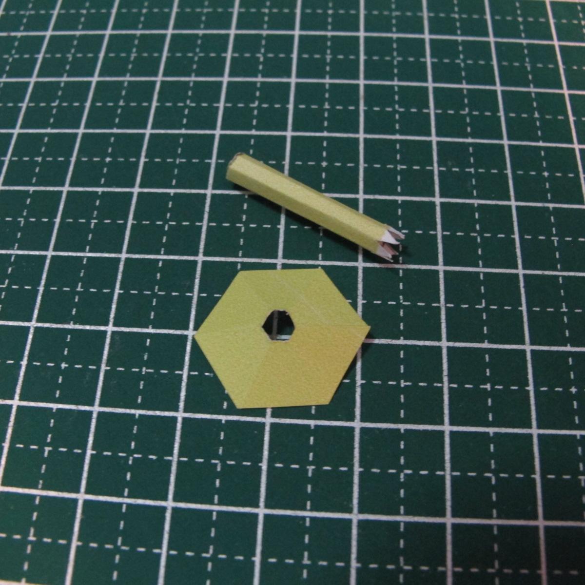 วิธีการทำโมเดลกระดาษเป็นสตอเบอรี่สีแดง 008