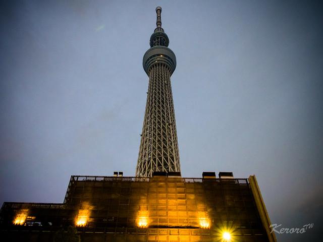 2014-01-30 日本行第六天 晴空塔