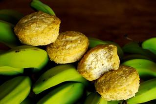 Banana & Coconut Muffins
