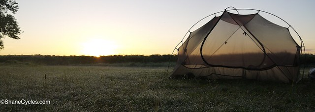 sunrise okavango