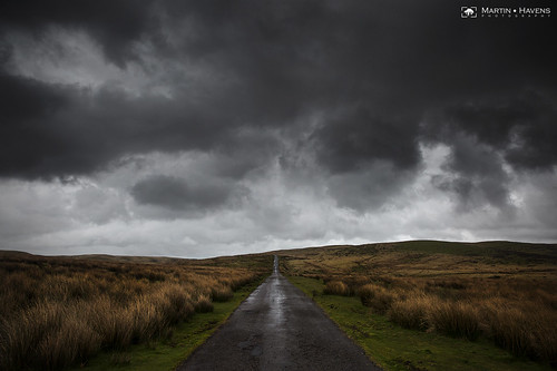 clouds cloudscape brecon breconbeacons road storm rain rainstorm dark skies brooding desolate wales southwales dramatic
