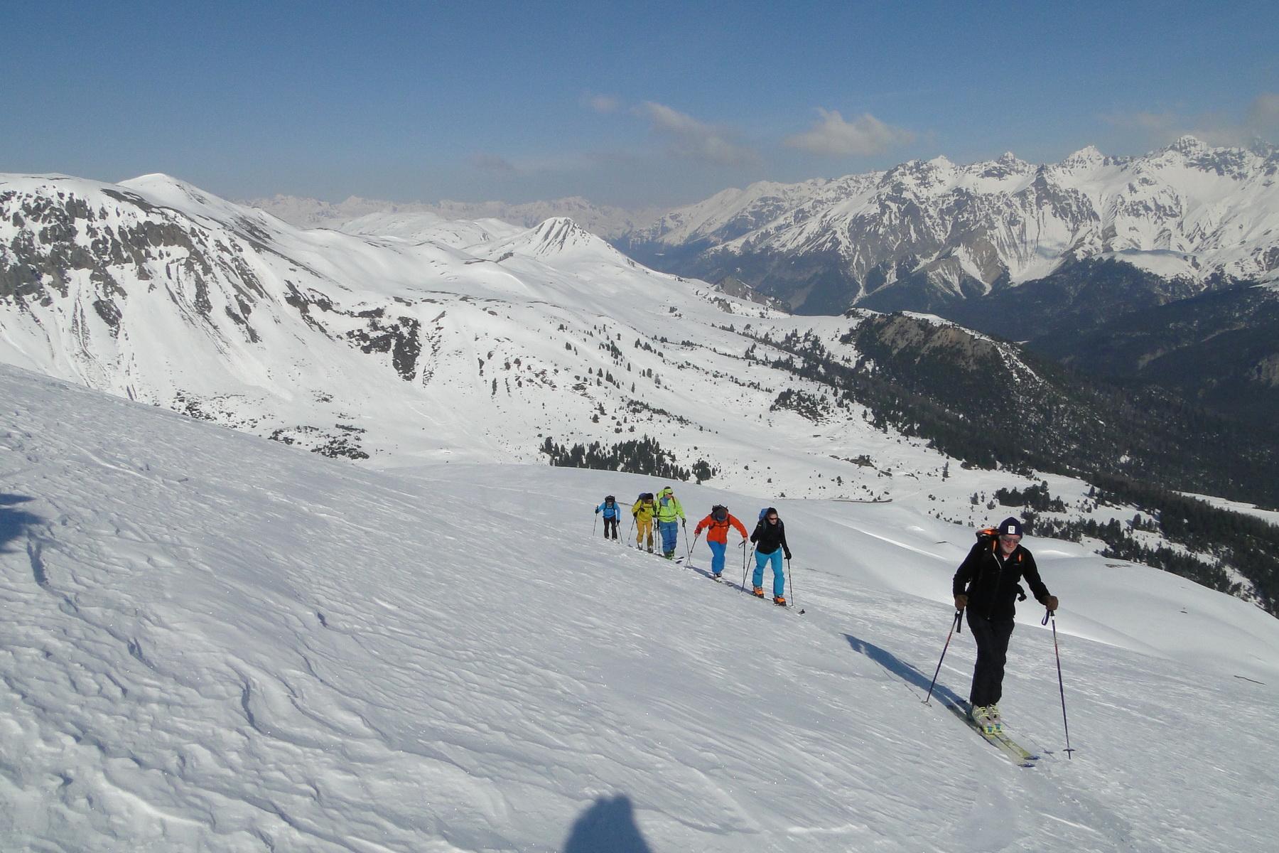 Skitourentage Piz Daint 26.03.2017