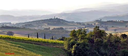 sunset italy panorama landscape countryside italia tramonto campagna tuscany toscana grosseto maremma cinigiano porrona nikond5000 castelporrona jambojambo mygearandme mygearandmepremium mygearandmebronze maremmanascosta hiddenmaremma