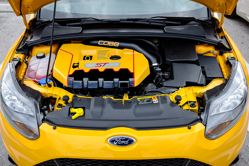 Custom Painted Focus St Engine Cover William Stern Flickr