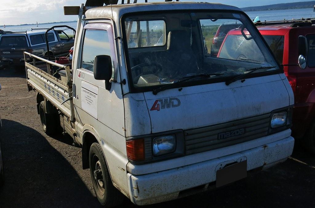 1993 Mazda Bongo Brawny Truck   Custom_Cab   Flickr