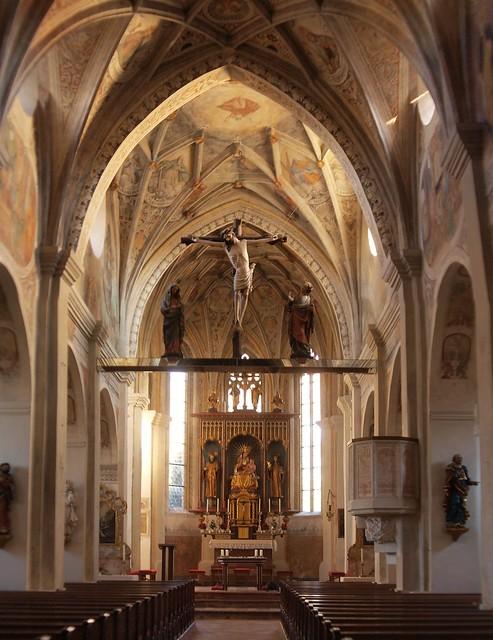 im Kirchenraum Seeon