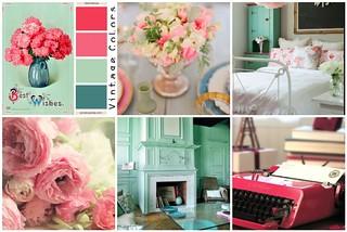 Cottage Chic Color Scheme