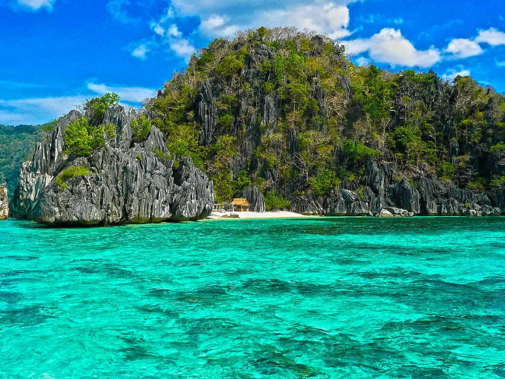 Coron Island Palawan The Philippines Crystal Clear Water