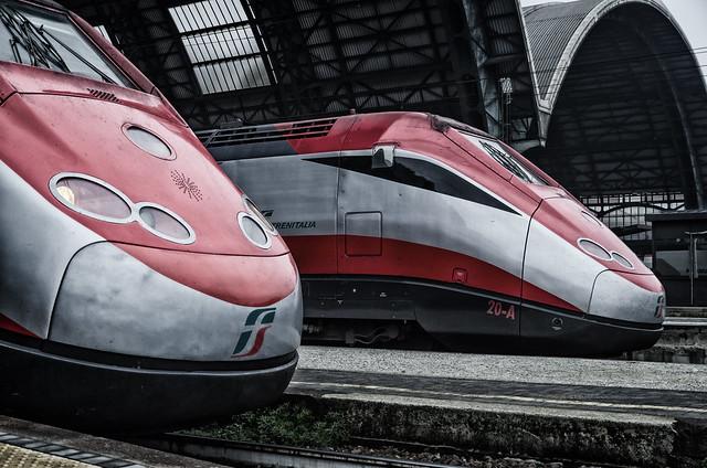 Freccia Rossa Trains.