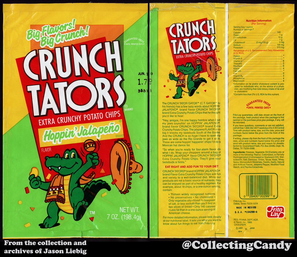 Frito Lay Crunch Tators Hoppin Jalapeno 7oz Snack Chi Flickr