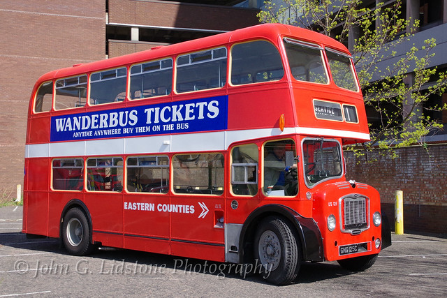 Eastern Counties Bristol Lodekka FS5G / ECW LFS125, GNG 125C in the care of the Ipswich Transport Museum