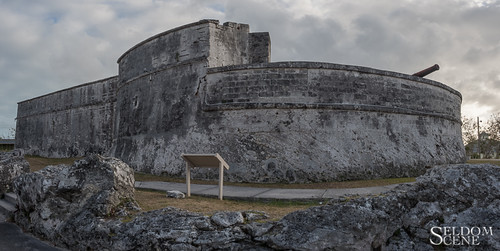 Fort Fincastle at dusk | by Seldom Scene Photography