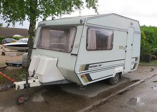 1980s Cavalier Carlton 392GT caravan   by Spottedlaurel