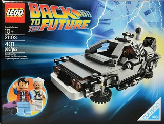 21103 Cuusoo Back To The Future DeLorean | by Brickset