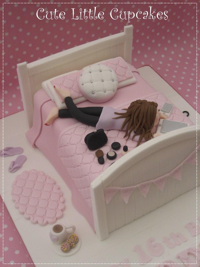 Brilliant Teenage Girls 16Th Birthday Cake Heidi Stone Flickr Personalised Birthday Cards Veneteletsinfo