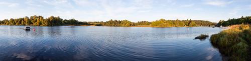 bridge camping water boats scotland scenery panarama lochken 50d 2013