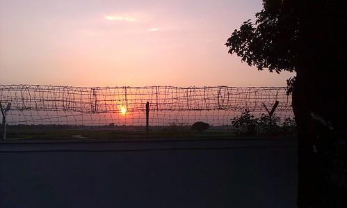 sunset airport bangladesh