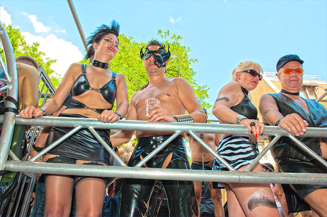 Black Mask . Zurich Street Parade 2013. No. 7015.