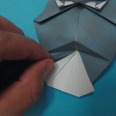 วิธีการพับกระดาษเป็นรูปนกเค้าแมว 033
